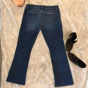 """Gap 1969 boot cut blue jeans about 40"""" LONG"""